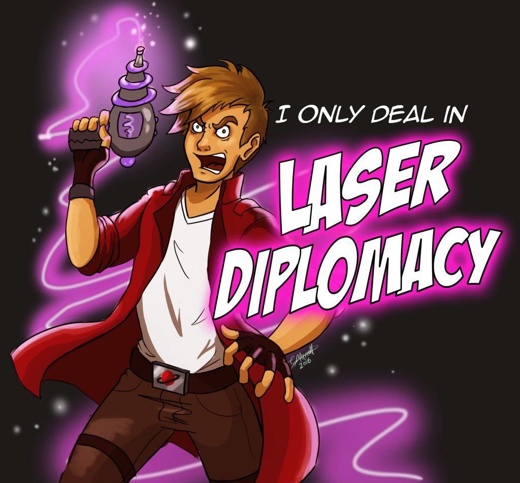 Murphy's Laser Diplomacy