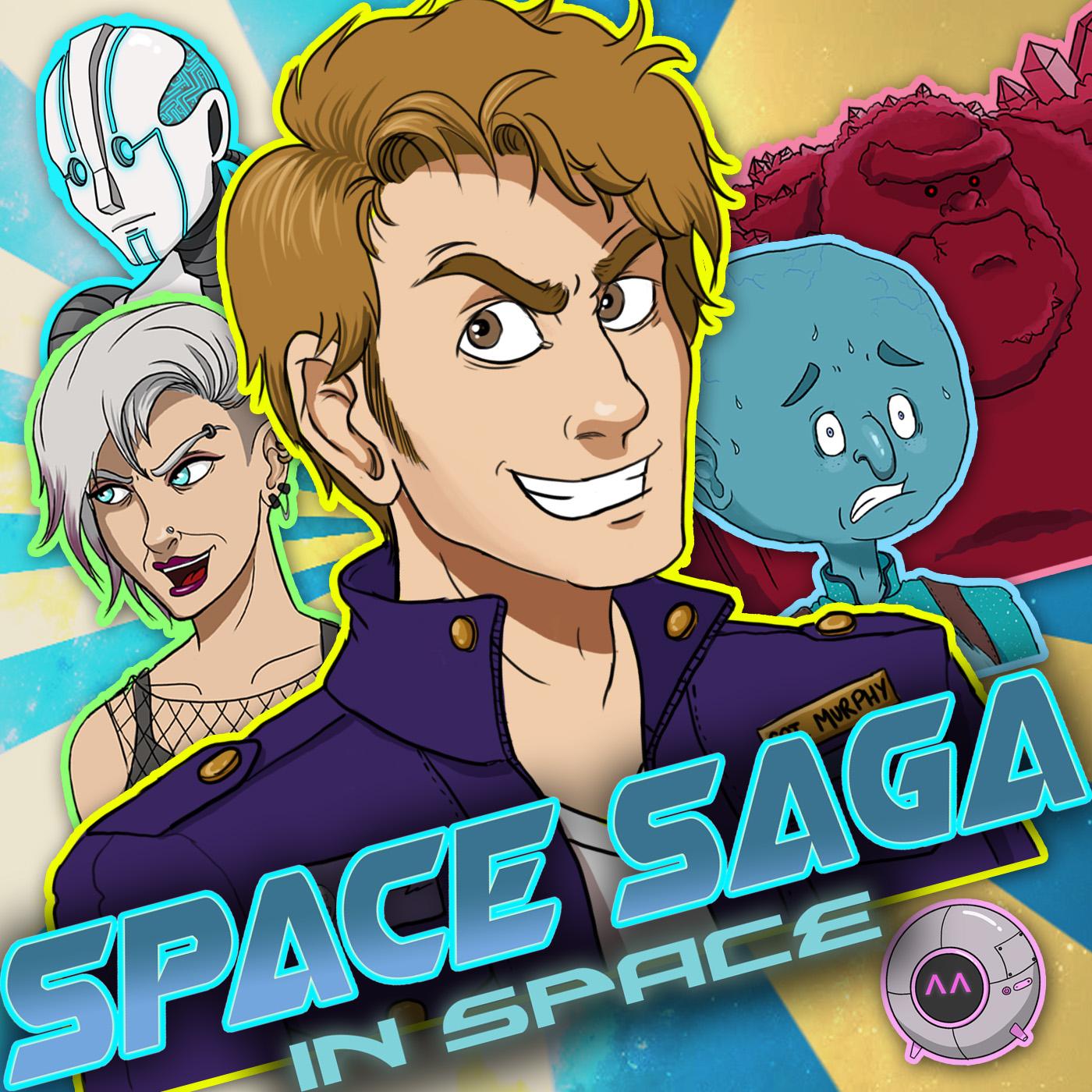 Space Saga Cover